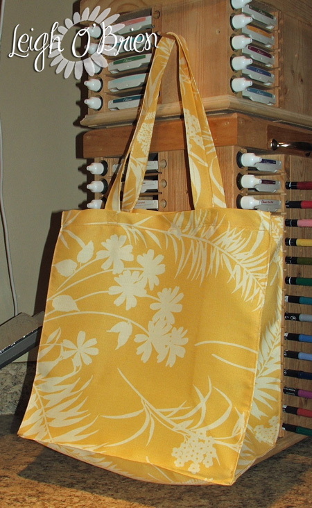 Shopping Bag_pattern 1_yellow