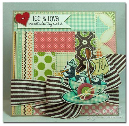Tea & Love_framed