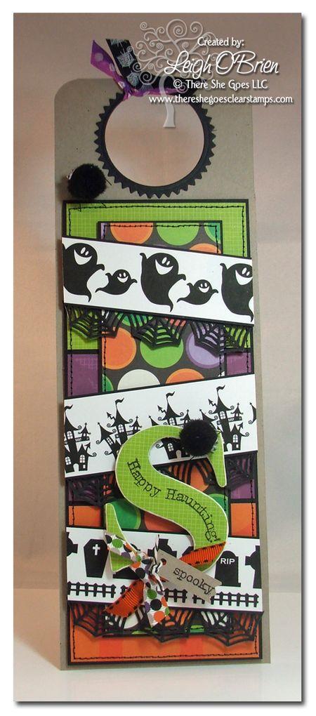 Bugs And Hisses_Spooky Doorhangerjpg